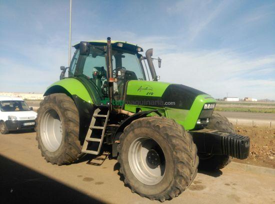 Tractor agrícola - Deutz-Fahr - Agrotron 210