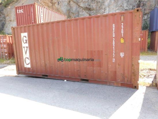 Contenedor marítimo usado de 20´DV