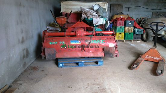 Rotocultivador (rotovator - Agric - Bms 70