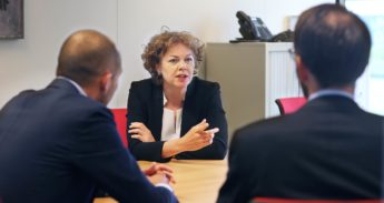 Ingrid Thijssen doet zendingswerk voor leidinggevende vrouwen
