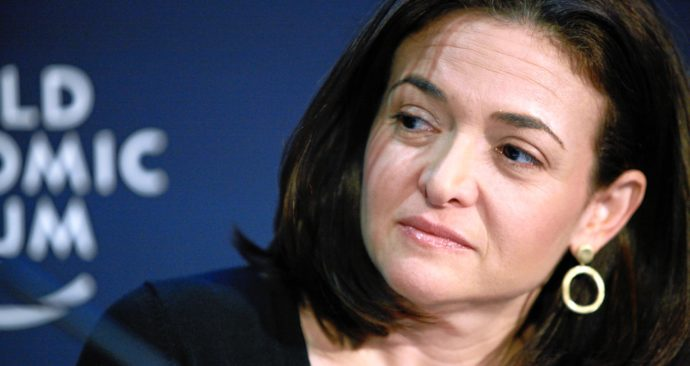 Het eerste baantje van Sheryl Sandberg