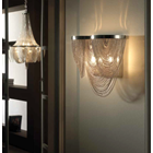Bouquet Large Silver Chain Wall Light
