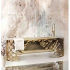 Brushed Brass And Iron Bathtub