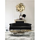 Carved Brass Interwine Coffee Table