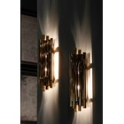 Chamber Gold Plated Brass Wall Lamp