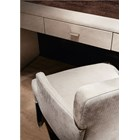 Upholstered Leather Claudette Console Table