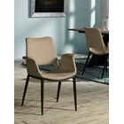 Célia Upholstered Dining Chair with Stitching Detail