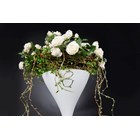 Dakota White Rose Tall Arrangement Set