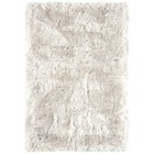 Deep luxurious white shaggy rug