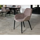 Matte Black Edwige Dining Chair