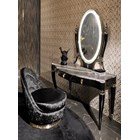 Ellamore Italian Lacquered Vanity Dressing Table With LED Mirror