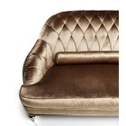 Eternal Diamond Upholstered Italian Armchair