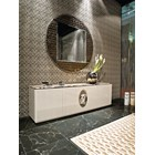 Frappuccino Italian Marble & Lacquered High Sideboard