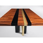 Freedom Aurum Rosewood High Gloss Dining Table