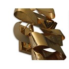 Gilded Ribbon Sconce- Wall Light