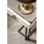Gracia Brushed Bronze Console Table