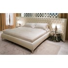 Grande Upholstered Deep Button Tufted Italian Bedstead