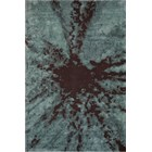 Hand Tufted New Zealand Wool Eclectic Blue Rug