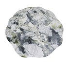 Impress Ice Jade Marble Outdoor Lacquered Fibreglass Round Dining Table