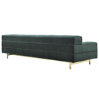 Touched D Burnished Brass Lamera Sofa