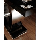 Curved Polished Brass Lozada Console Table