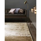 Luxury hand woven light reflecting sand rug
