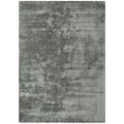 Luxury silky smooth deep pile zinc rug