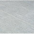 Luxury viscose and wool geometric weave pattern stone blue rug
