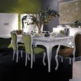 Cream elegant French dining chair