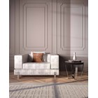 Margaux Upholstered Leather Armchair