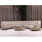 Messina Italian Modular Curve Sofa