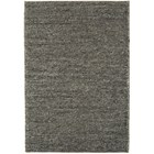 Natural Wool And Viscose Charcoal Rug