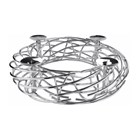 Nest Nickel Plated Candle Holder