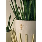 Panache Outdoor Lacquered Steel Italian Planter