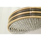 Penthouse Eden Asfour Crystal Black & Gold Wall Lamp