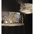 Penthouse Swarovski Crystal Gold Wall Lamp