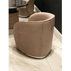 Poise Italian Upholstered Swivel Armchair