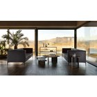 Touched D Smoke Black Lacquered Ravenna Coffee Table