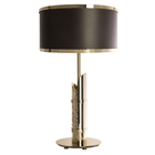 Less Is More Hammered Metal Table Lamp