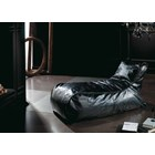Ritz Upholstered Black Loose Cover Chaise Longue