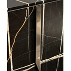 Italian Rocco Sideboard With Metal Detailing