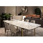Sognare Calacatta Marble Luxury Dining Table