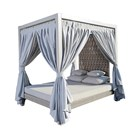 Strips Four Poster Daybed
