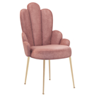 Sylvia Scalloped Dining Chair with Low Arms
