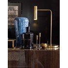 Touched D Curved Canaletto Walnut, Marble Top & Brass Sideboard