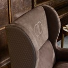 Touched D Upholstered Quilted Wing Armchair