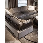 Touched D Upholstered Wing Feather Sofa