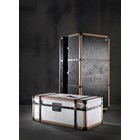 Traveller Special Edition Leather & Walnut Cocktail Bar Cabinet