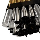 Vancouver Brass Gold & Nickel Plated, Glass Suspension Lamp