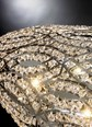 Luxury Asfour Crystal LED Dome Chandelier